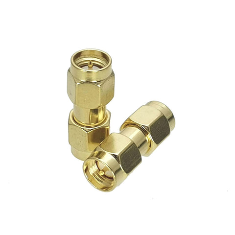 SMA Male to SMA Male (Pin to Pin) Series RF Coaxial Adapter Connector - Envistia Mall