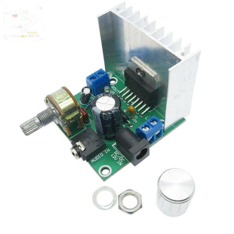 TDA7297 15Wx2 Digital Stereo Audio Amplifier Module with Volume Potentiometer - Envistia Mall