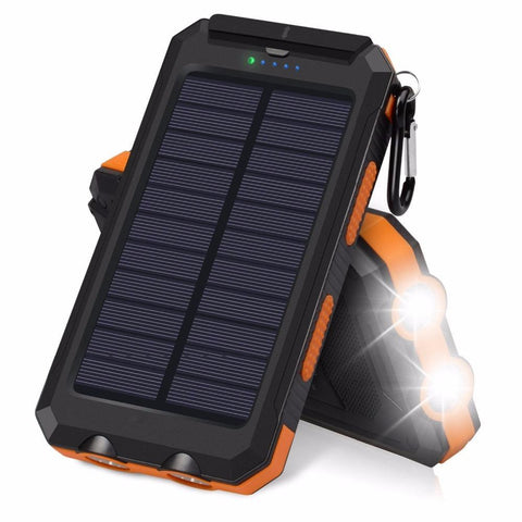 Waterproof USB Solar Power Bank (20000mAh) - Envistia Mall