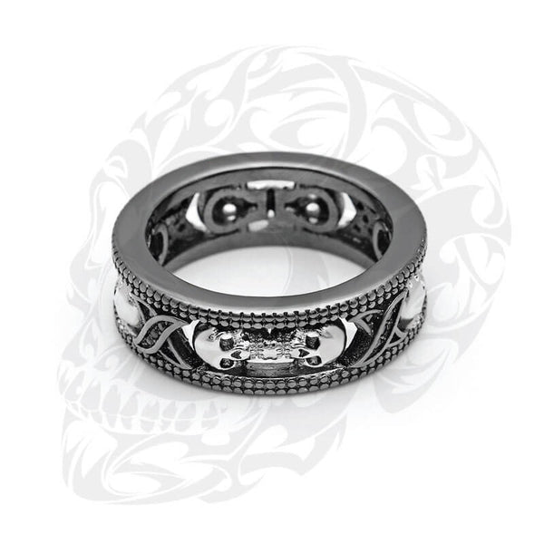 TWO-COLOR Punk Ring