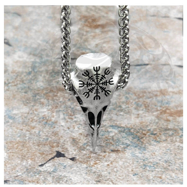 Bird Skull Necklace