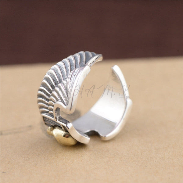 Ring Silver 925 Wings,fahamk.com.
