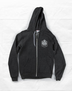Midnight Moon Ladies Zip Hoodie
