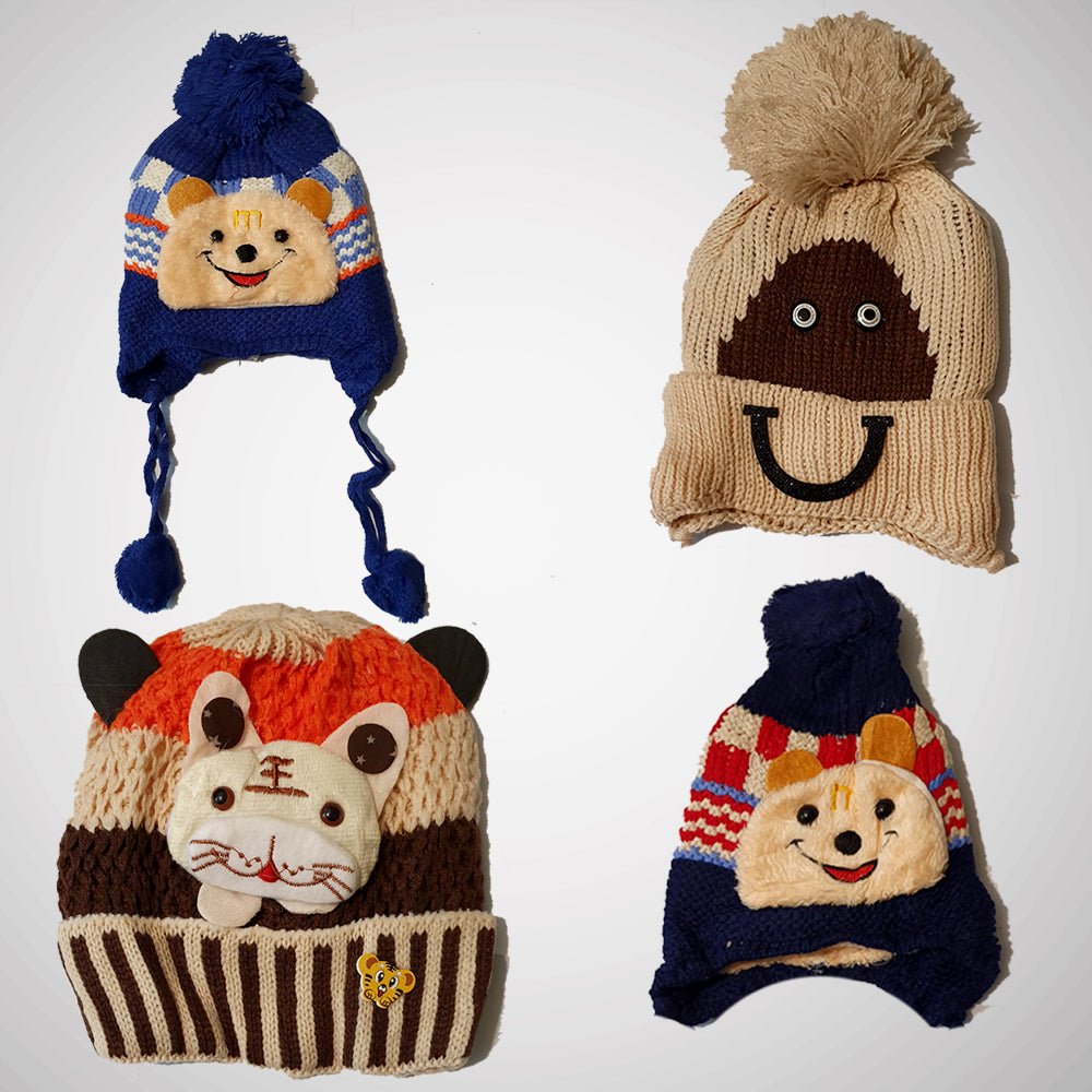 Kids Cap- pack of 4