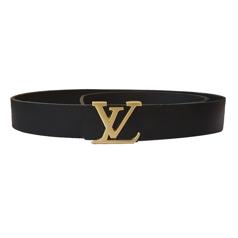 LV-GRADIENT LEATHER BELT