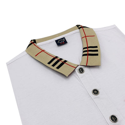 Monogram-Embroidered Polo Shirt
