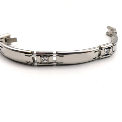 Timeless Stainless Steel Link Men Bracelet