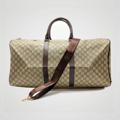FAUX LEATHER TRAVEL BAG 224-83