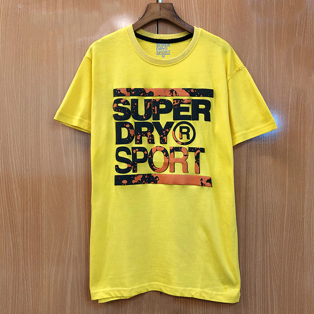 SPD Training Graphic YELLOW T-Shirt