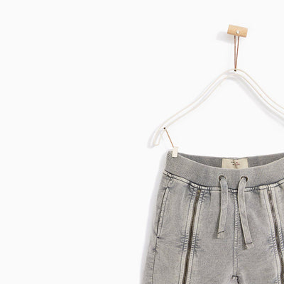 ZARA-boys bermuda shorts with zip
