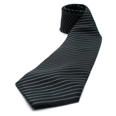 SILK POLYESTER SLIM NECKTIE BOX SET (6)