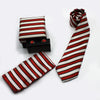 SILK POLYESTER SLIM NECKTIE BOX SET (3)