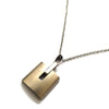 Lock Pendant Necklace 711