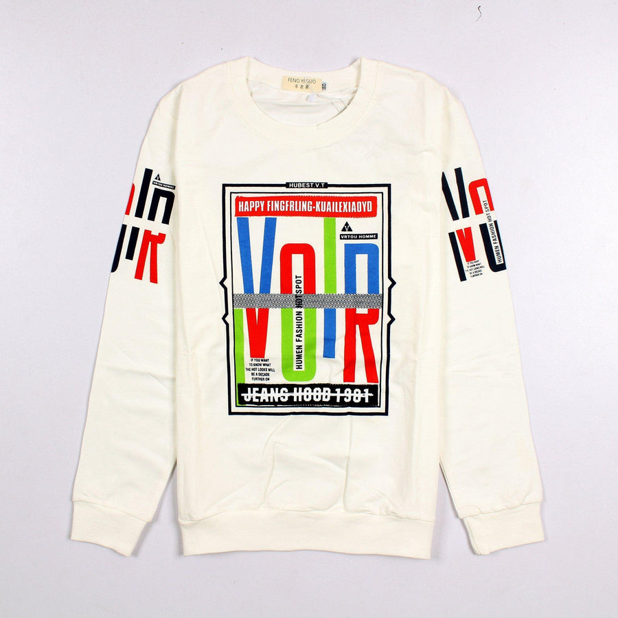 Summer T.Shirt  Cotton Fabric VIOR OFF-White