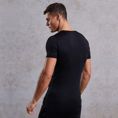 SUPER DRY Training Graphic BLACK  T-Shirt