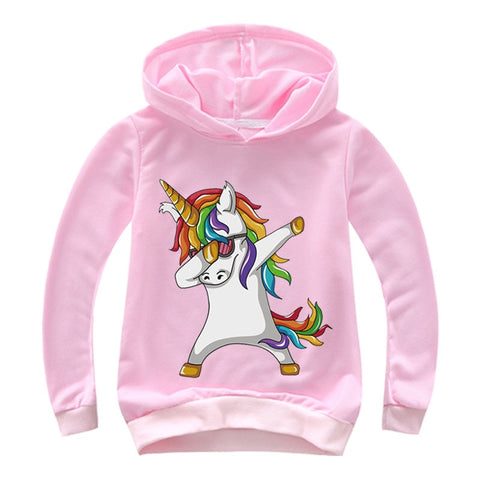 Children Fashion Dab Hoodie