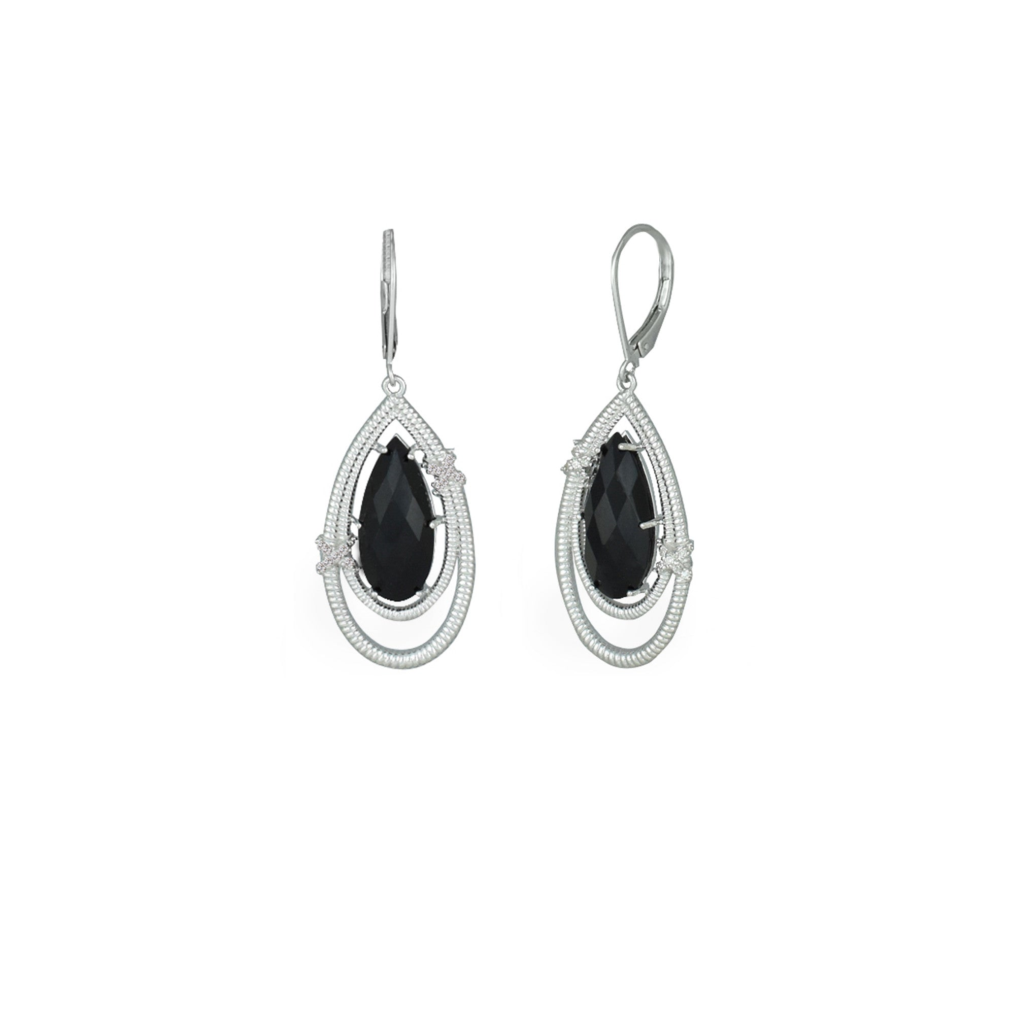 earrings qlt hei sterling prod silver diamond p wid accent