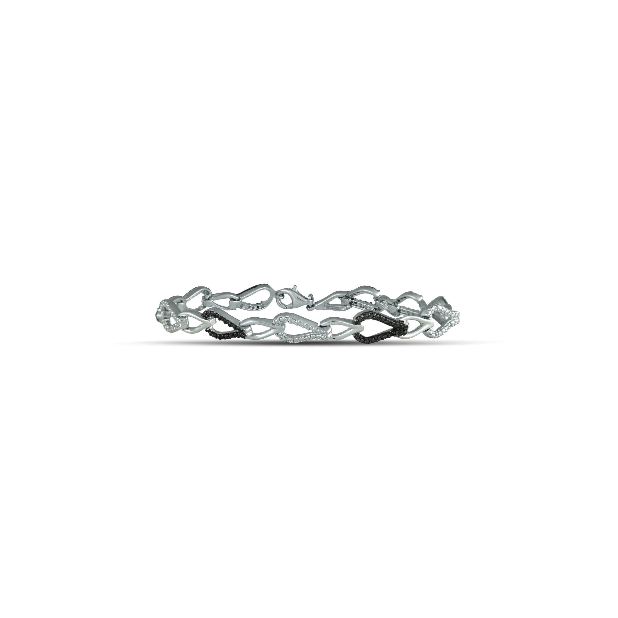products silver embersjewellery slice solid sterling bracelet normal diamond