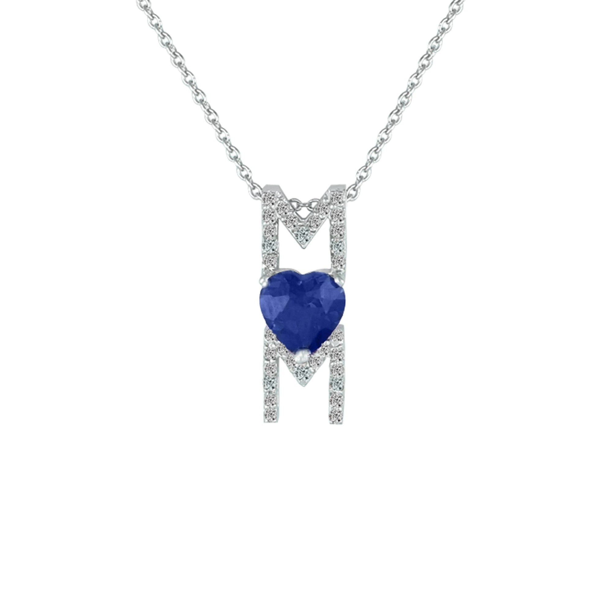 drop from wholesale necklace heart double silver for pendant jewelry shipping product dolphin free fire shape blue opal