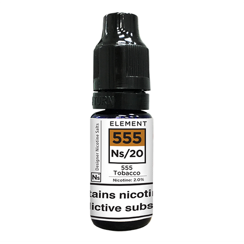 555 TOBACCO ELIQUID BY ELEMENT NS20