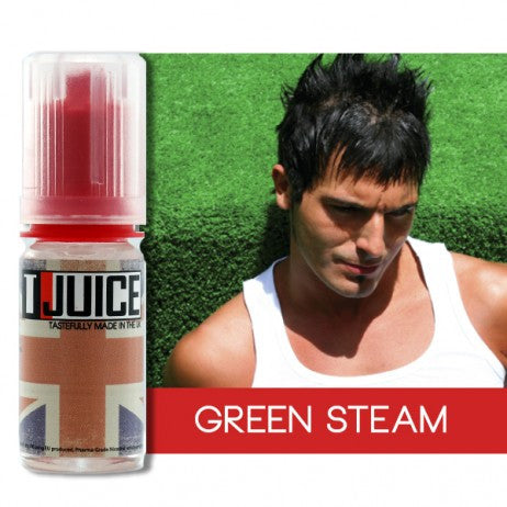 GREEN STEAM ELIQUID BY TJUICE - Online Vape Store UK - Vape Botz | vapebot.co.uk