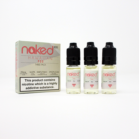 HAWAIIAN POG ELIQUID BY NAKED - Online Vape Store UK - Vape Botz | vapebot.co.uk
