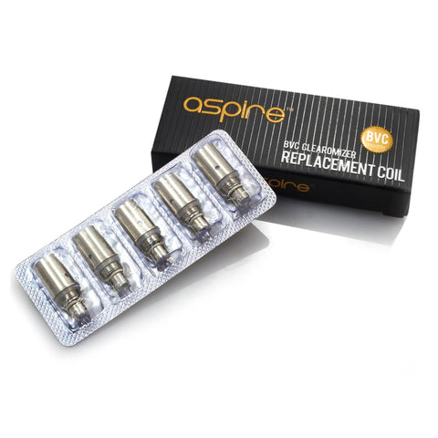 ASPIRE BVC REPLACEMENT COILS - Online Vape Store UK - Vape Botz | vapebot.co.uk