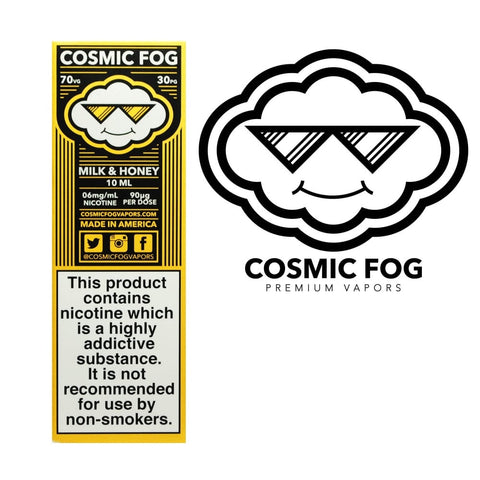MILK & HONEY E-LIQUID BY COSMIC FOG - Vapebotz Online Vape Store UK