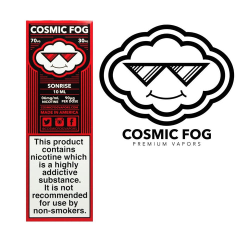 SONRISE ELIQUID BY COSMIC FOG - Online Vape Store UK - Vape Botz | vapebot.co.uk