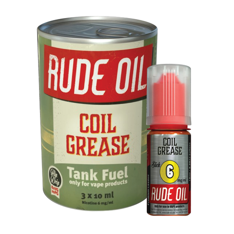 COIL GREASE ELIQUID BY RUDE OIL - Vapebotz Online Vape Store UK