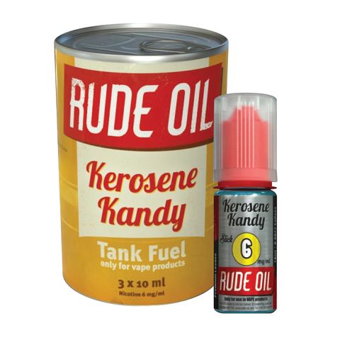 KEROSENE KANDY ELIQUID BY RUDE OIL - Vapebotz Online Vape Store UK