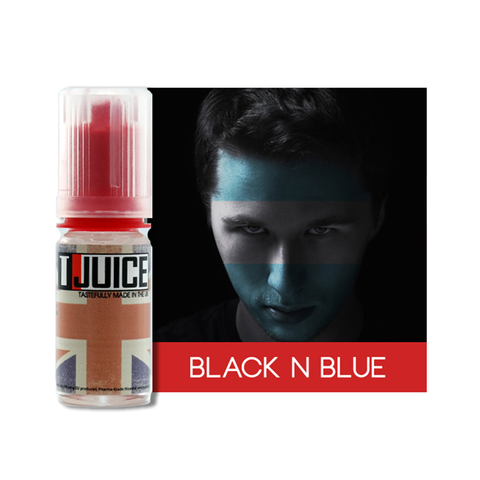BLACK N BLUE ELIQUID BY TJUICE - Vapebotz Online Vape Store UK