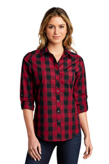 Ladies Everyday Plaid Shirt
