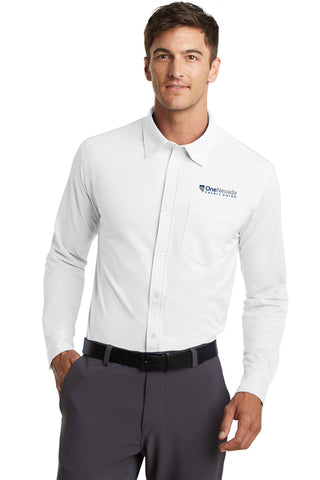 Port Authority® Dimension Knit Dress Shirt