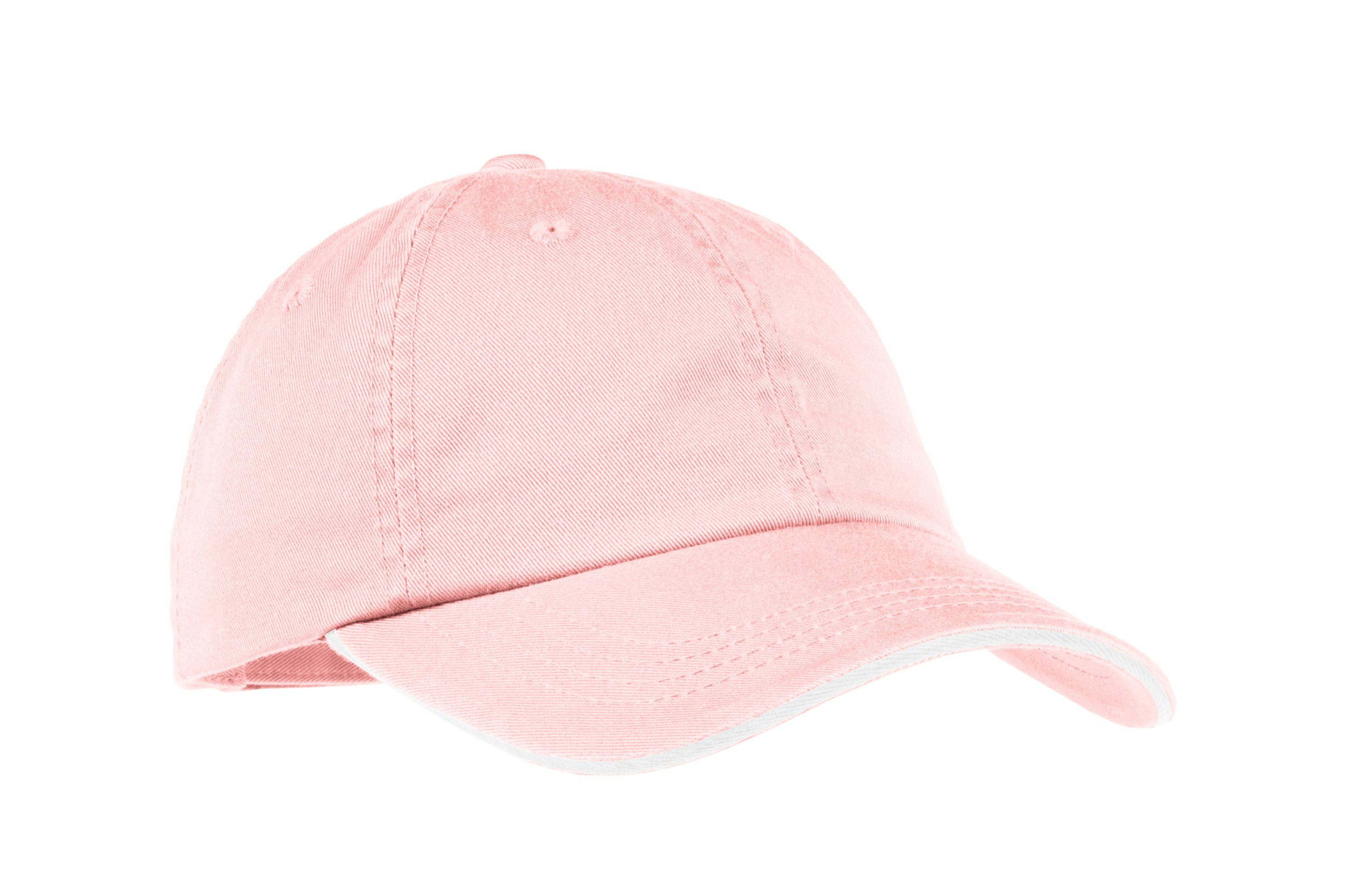 Port Authority® Ladies Sandwich Bill Cap with Striped Closure