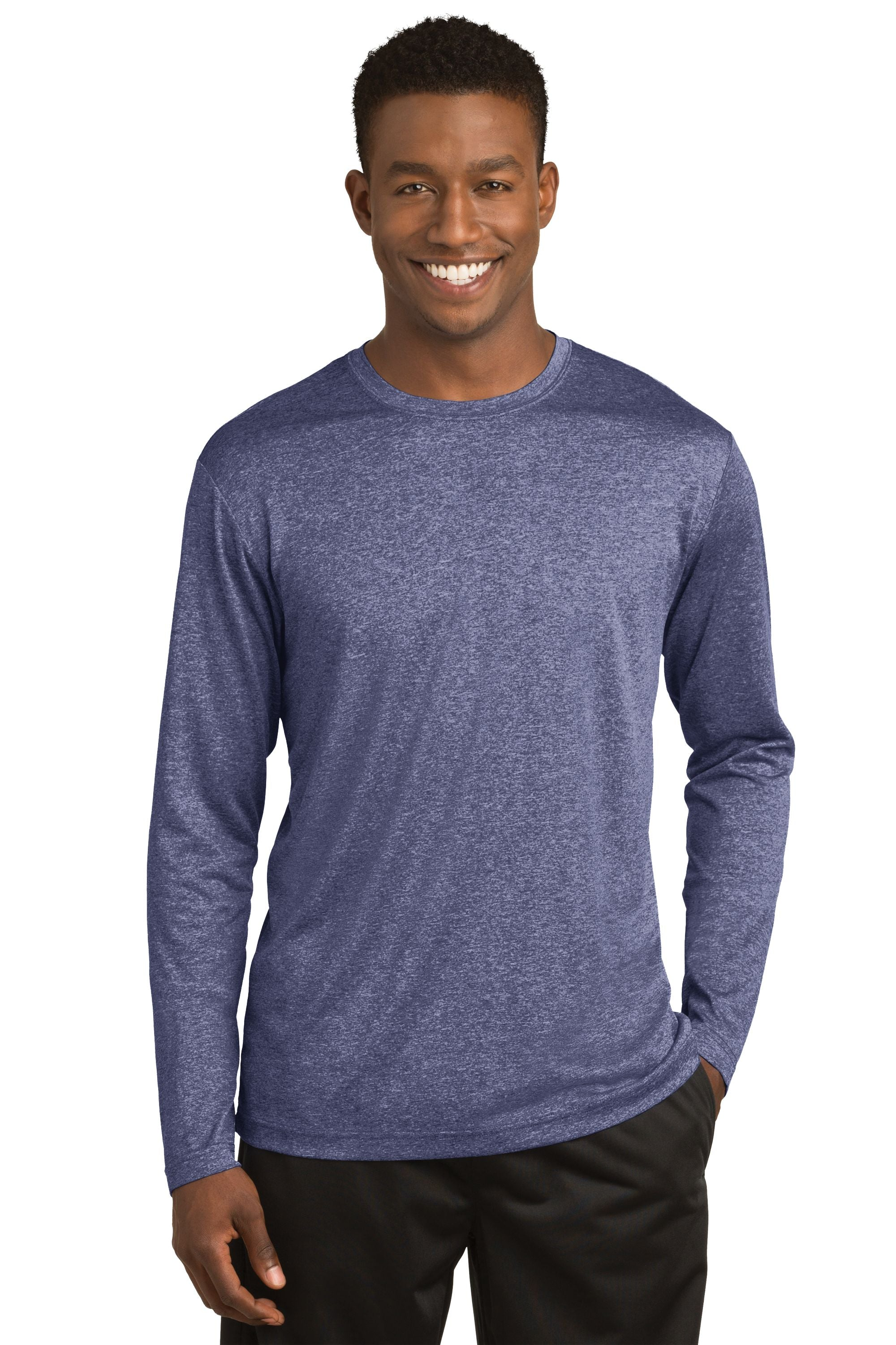 Sport-Tek® Long Sleeve Heather Contender™ Tee