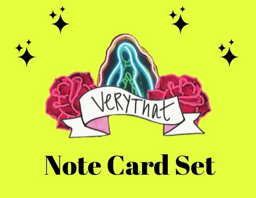 Very That Note Card Set