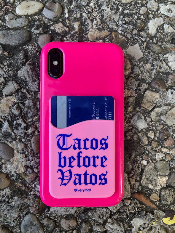 Tacos Before Vatos Phone Wallet