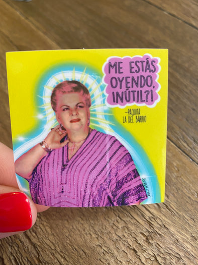 Paquita la Del Barrio Sticker - Inutil