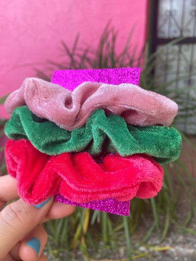 Watermelon Scrunchie Set