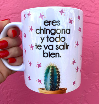 Eres Chingona Full Color Mug | Chingona | Latina