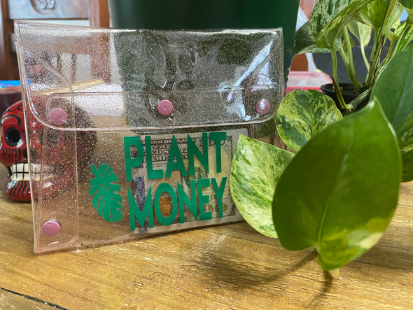 Plant Money Clutch