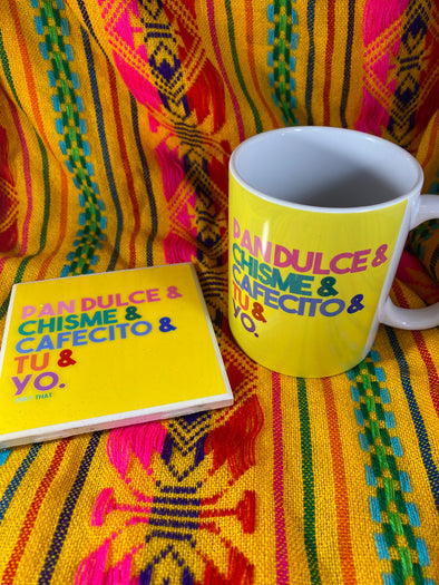 Tu y Yo Mug and Tile Bundle