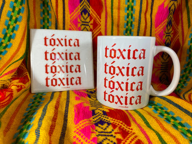Toxica Mug and Tile Bundle