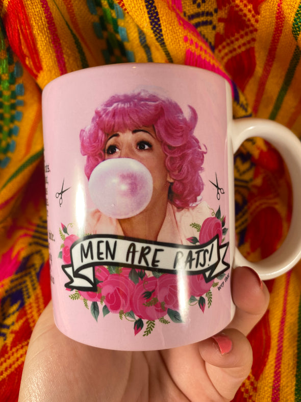 Frenchy Mug | Men Are Rats | Full Color Mug