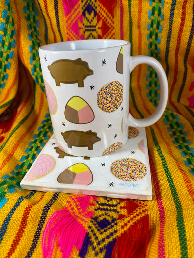 Pan Dulce Mug and Tile Bundle