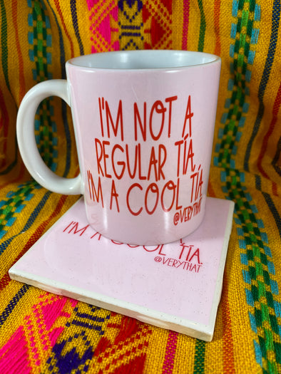 Cool Tia Mug and Tile Bundle