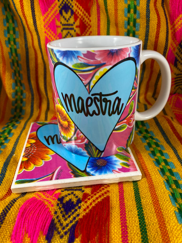 Maestra Mug and Tile Bundle