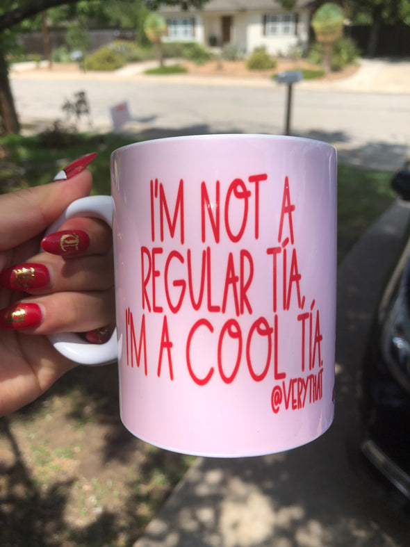 Cool Tia Mug by Very That | Full Color Mug | Chingona | Latina