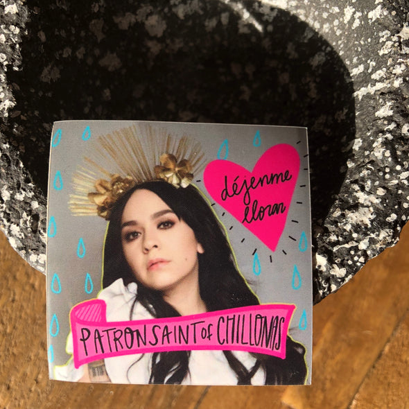 Patron Saint of Chillonas | Carla Morrison Sticker | 2x2 ""